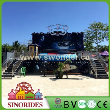 Thrill amusement rides outdoor amusement park disco tagada