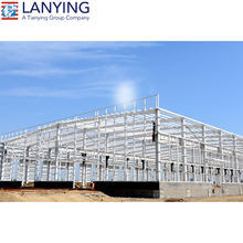 high strength workshop steel structure building with cladding roofing