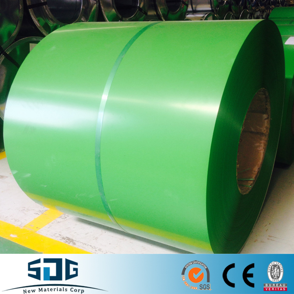 Prepainted GI Steel Coil / PPGI / PPGL Color Coated Galvanized Steel Sheet In Coil net weight price