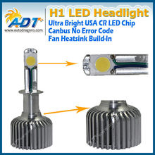 30W LED Headlight Conversion KIT H1 5000K 2Year Warranty! High Quality!