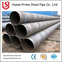 SSAW/HSAW High Strength Spiral Welded Steel Pipe API 5L SSAW spiral welded steel pipe