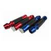 Rubber motorcycle handgrips 22mm aluminum materials