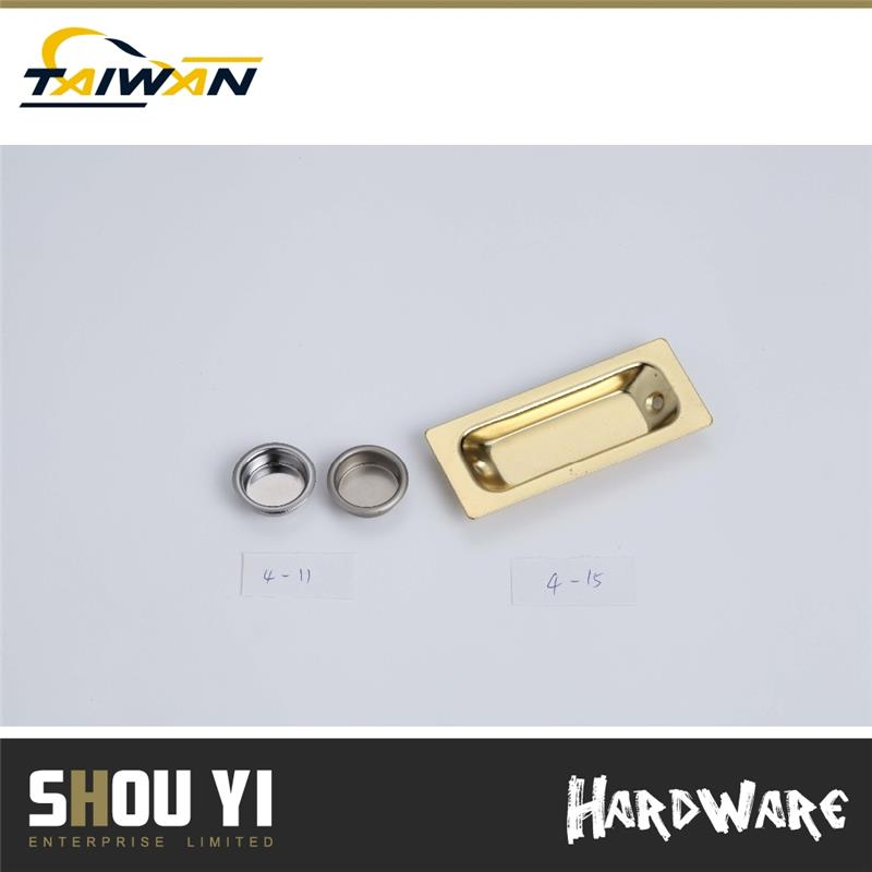 Durable Brass Plated Zinc Alloy Sliding