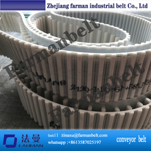 PU synchronous belt L with rubber coating ,L transmissi belt with guiding belt as customer requirement ,L endless timing belt