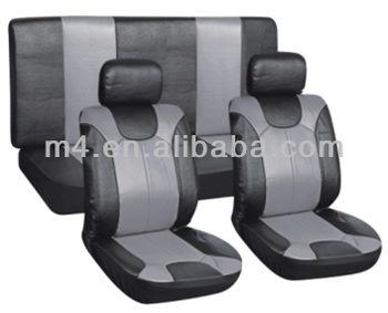 PVC leather car seat cover pack