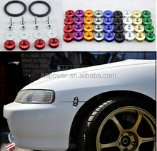 New Design Aluminum Quick Release Fasteners For Car Bumpers Trunk Fender Hatch Lids Kit