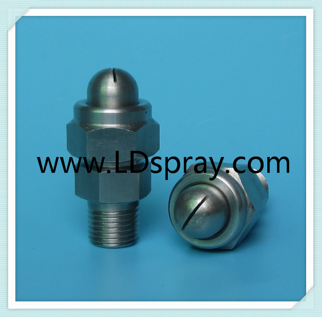 "1/8'',1/4"" NPT or BSPT Stainless steel spraying air water steam nozzle"