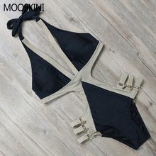Hot Selling One Piece Swimwear Swimsuit Sexy Women Vintage 2017 Summer Beach Wear Bandage Bikini BK095