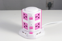 electric power extension socket,4.5A ,travel adapter with usb ,power supply,electric plug,multi plug socket