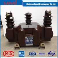 Three 11kv outdoor combined ct pt