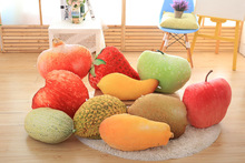 wholesale new vegetable pillows fruit shaped pillow soft funny pillow for baby