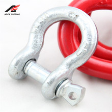 wholesale g-209 8 mm details adjustable stainless steel paracord quick release shackle with nut flat/screw/clevis pin