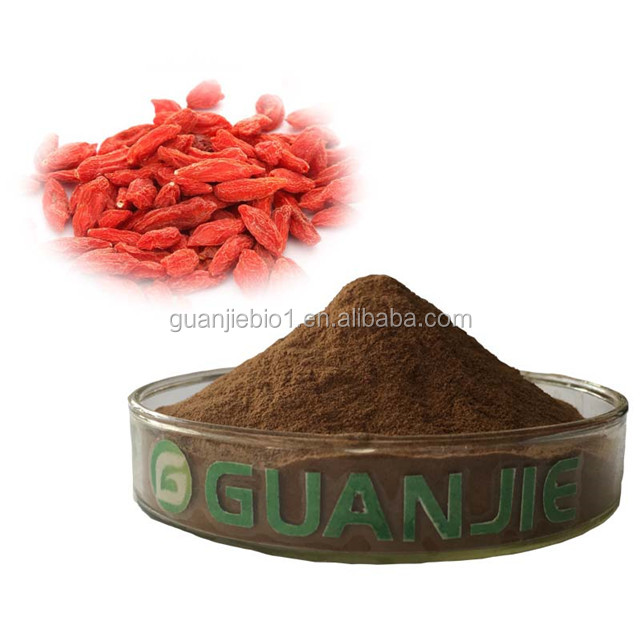 Factory Supply 100% Natural Chinese Wolfberry Extract,Goji Berry Extract Powder