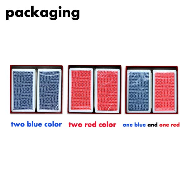 cheap with good quality poker card set/customized playing card