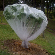 Non woven spunbond winter fruit tree cover
