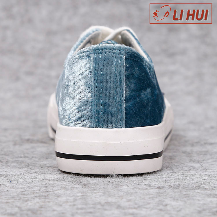 2017 China Wholesale School Fashion Canvas Casual Shoes