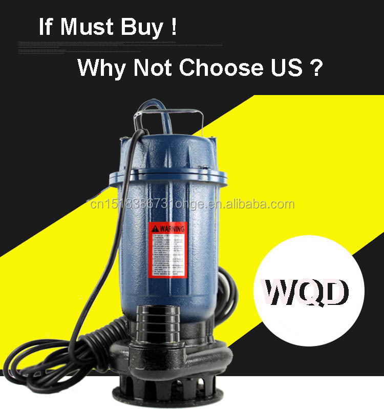 High Quality! Dirty Water Submersible Pump Sewage Water Pump