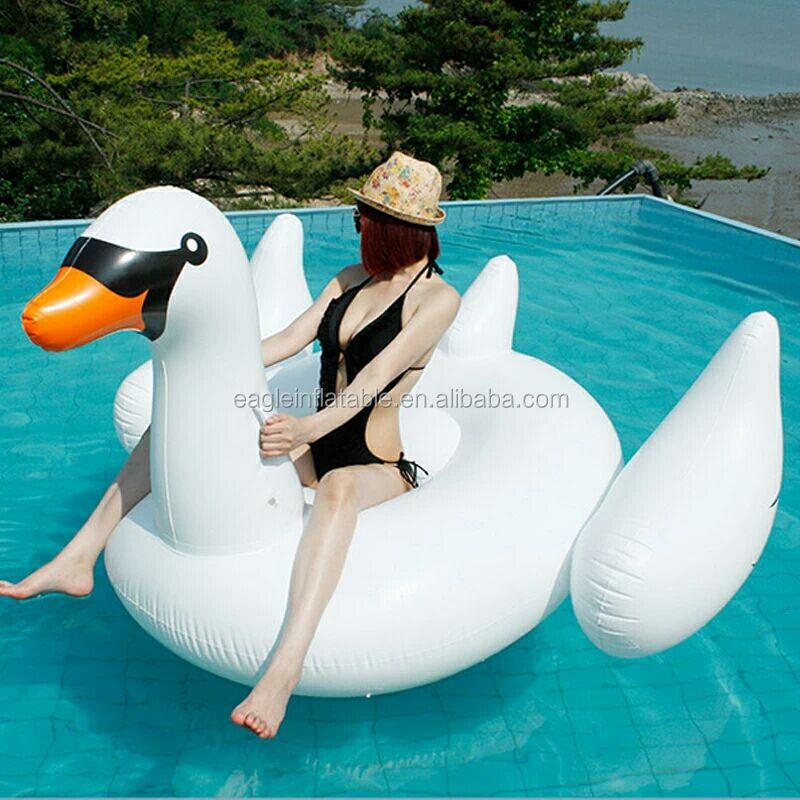 Factory Hot Selling Summer Pool Holiday Adult Swimming Pool Float Swan  Inflatable White Swan Float Pool Floats In Stock - Buy Adult Swimming Pool  ...