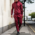 wholesale tracksuit sportswear for men with high quality /custom mens black slim fit tracksuit from China market H-2426