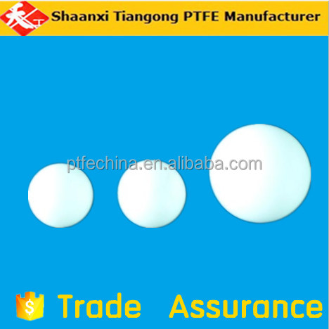 hollow ptfe ball / teflon ball / clear plastic ball