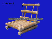 Original Bamboo Sofa For Living room,-100% Handmade From Vietnam-Eco Friendly material