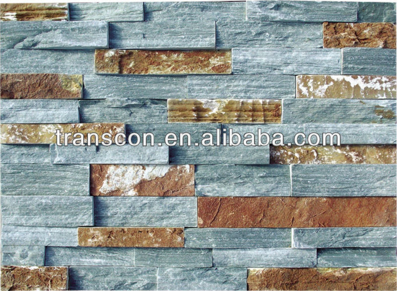 Blue Natural Stone,Professional Slate/China Blue Natural Slate Stone SE003-2