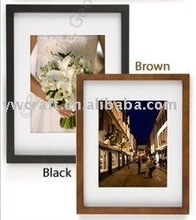 8x10 Brown and black wooden wall picture frames(2012 new design)