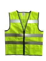 Hi visibility highway safety vest