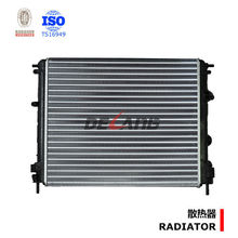 Aluminum engine radiator for DACIA LOGAN OE No.8200033831(DL-A009)