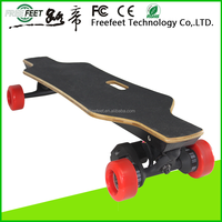 2016 Best price 1800w street style four wheel longboard gasoline powered motor scooter
