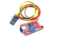 China Gold Supplier Microphone Voice Sound Sensor Module For Arduino Microphone Voice Sensor