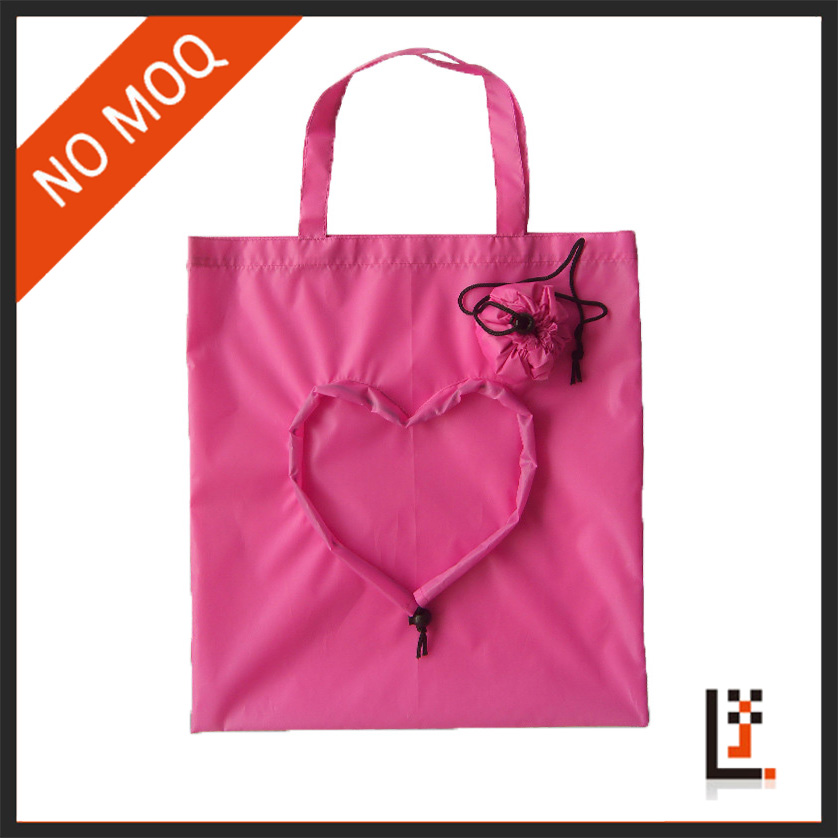 Best quality cheap polyester bag fabric, reusable folding tote bags