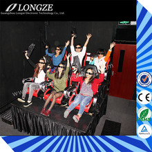 Longze Mobile Commercial Game Machine Hot Sale Simulator 6D 7D 9D Game Equipment Suppliers System 8D Cinema
