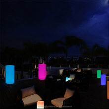 Led columns for wedding decorating with 16 colors changing