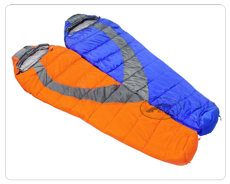 Eco-Friendly Matable Warm Weather Light Single Layer Women Mummy Sleeping Bag