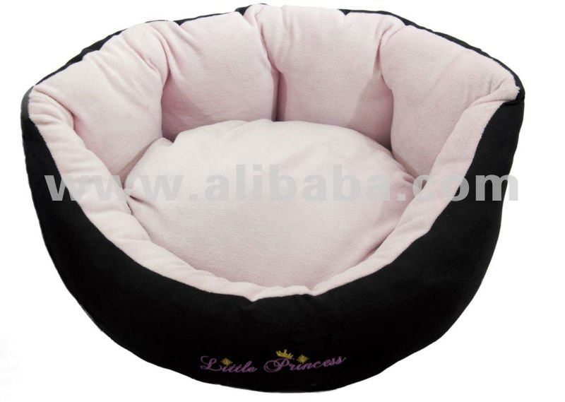 Designer Dog Beds. Luxury Pink/Blue & black beds. Puppy/small-large