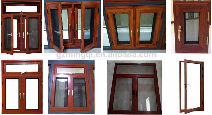 New design aluminum door and window sliding casement type for Window net design