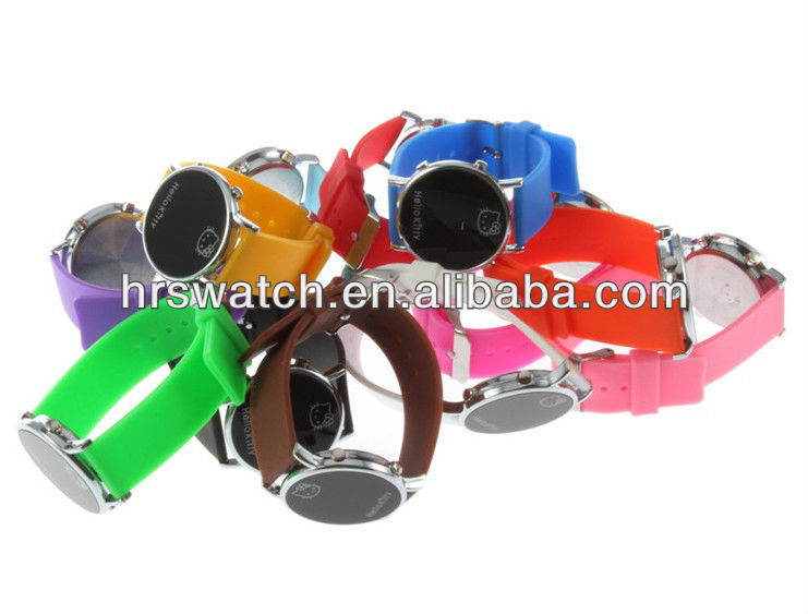 wholesale silicone LED watch hello kitty