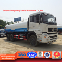 high quality dongfeng tianlong heavy duty 25tons water tanker transportation truck
