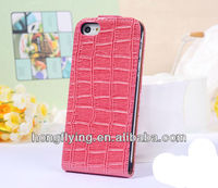 2013 New top style leather case cover for iphone 5,for iphone case with high quality