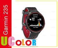 Newest Garmin 2016 New Garmin Forerunner 235 GPS Running Watch Wrist HRM Red / Black