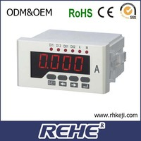 ammeter led current panel meter analog to digital I monitor meter