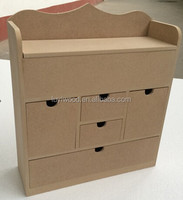 wooden desktop sundries storage cabinet suitable for home and shop