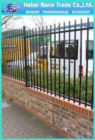 wrought iron spear point for fence decoration,garden fence panel