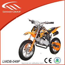 49CC dirt bike /kids automatic dirt bikes mini kids dirt bike use big tire with CE LMDB-049F
