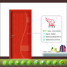 hot selling popular design wooden sliding glass interior door