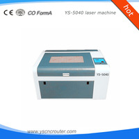 invitation card paper cutting machine mini laser rotary engraving system