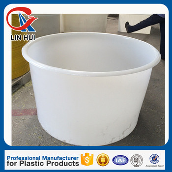 1000 liter rotomould heavy duty round plastic fish container in aquariums and accessories for fish fram