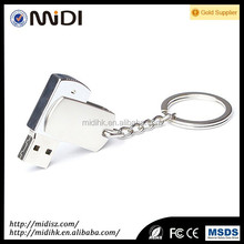 sliver metal flash drives 8gb palstic usb flash driver/usb card memory