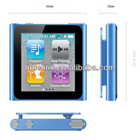 "1.8"" 6th generation clip music MP4 player"
